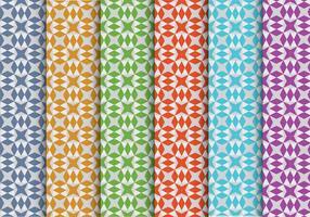 Patterns vectoriels colorés