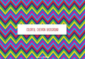 Coloré Chevron Background vecteur