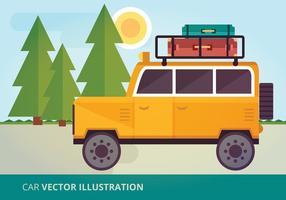 Illustration vectorielle de voiture vecteur
