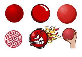 Vecteur de dodgeball gratuit