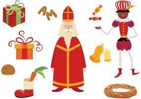 Vecteur Noël néerlandais gratuit