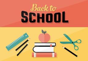 Fond d'arrière-plan Back To School gratuit