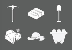 Illustration vectorielle gratuite d'or Mine vecteur