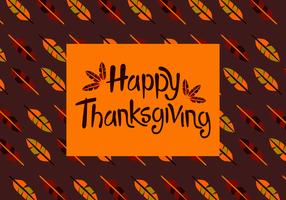 Vecteur heureux de Thanksgiving heureux