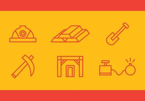 Free Gold Mine Vector Icons # 3