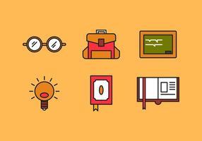Icônes libres de vecteur de livre pour enfants # 11