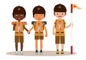 Vecteurs Scouts vecteur