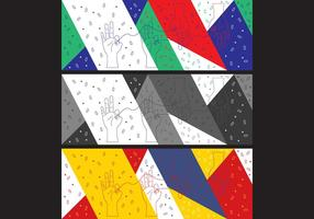 Couverture simple gratuite de Pop Art # 18 Facebook vecteur