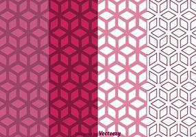 Fond géométrique violet vecteur