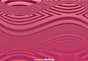 Ligne vague fond violet