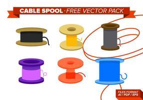 Pack de vecteur gratuit de câble sans fil