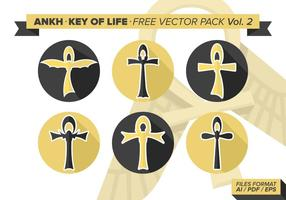 Ankh key of life free vector pack vol. 2