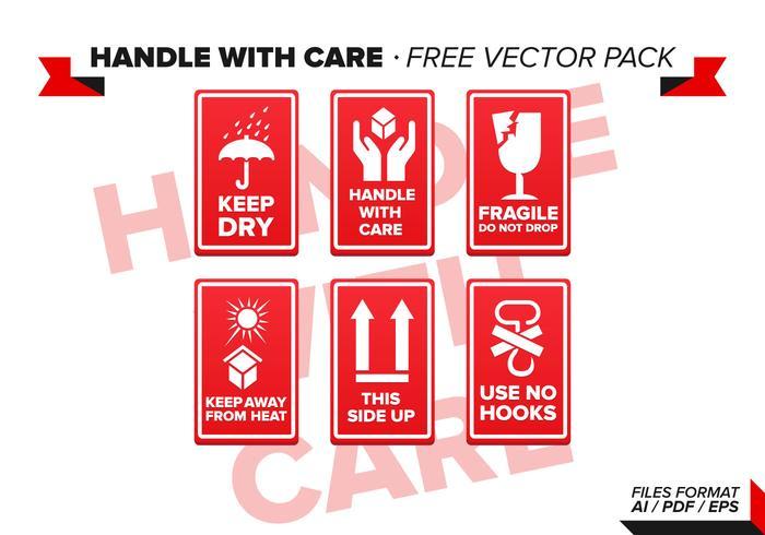 Lidar com pacote de vetores com cuidado