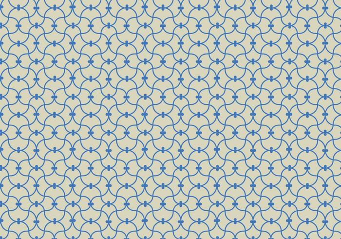 Vetor de fundo do padrão linear azul