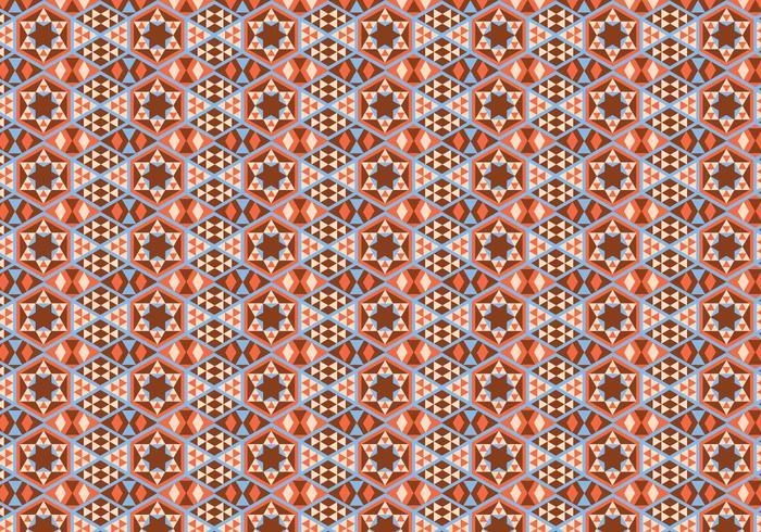 Vetor de padrão geométrico abstrato