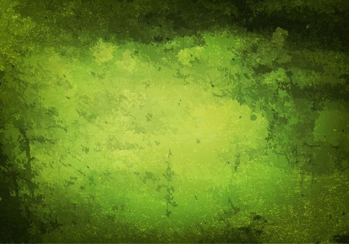 Textura vetorial livre do grunge verde vetor
