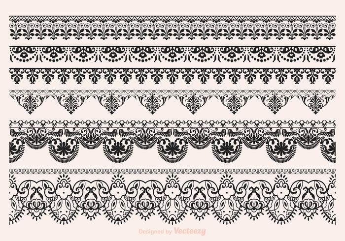 Vector Vector Lace Vector Border