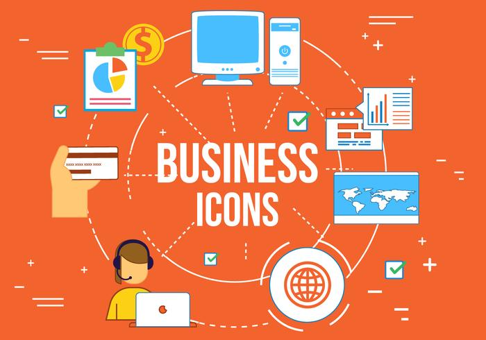 Elementos da Web de Negócios de Vector Grátis