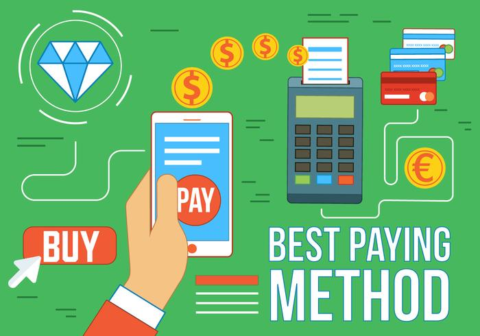 Método de pagamento gratuito para vetores