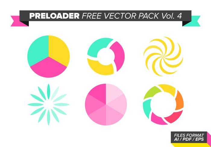 Pré-carregador pacote vetorial gratuito vol. 4 vetor