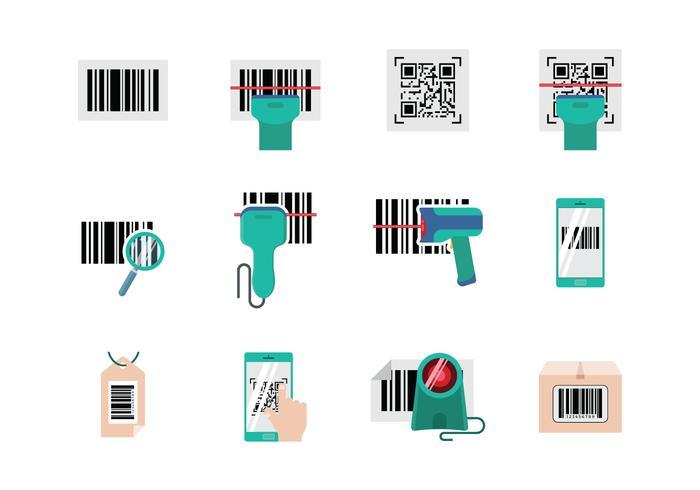 Livre Barcode Scanner Vector