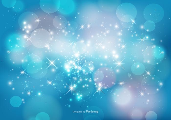 Resumo Bokeh e Sparkles Background vetor