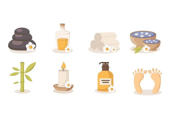 Free Spa Beauty and Health Vector