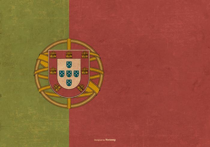 Bandeira de Portugal de Portugal vetor