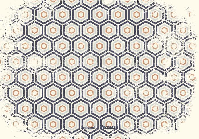Fundo de padrão geométrico afligido vetor
