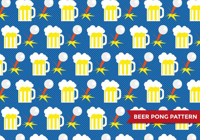Vetor de cerveja Pong Patter