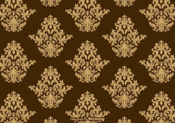 Vetor de padrão de ornamento acanthus