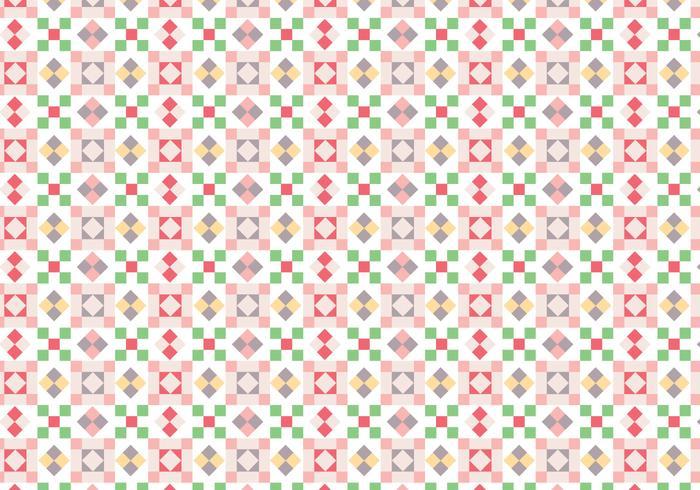 Padrão de quadrados geométricos vetor