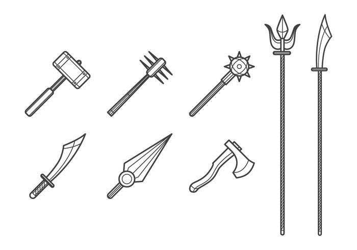 Livre Melee Weapon Vector