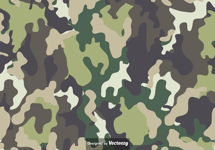 Vetor multicam camouflage pattern