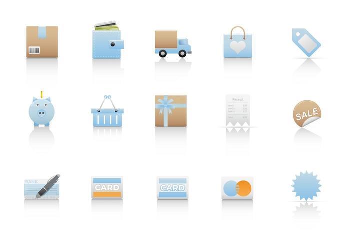 Compras Pack Vector Icon