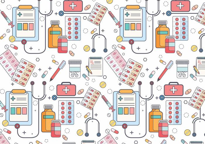 Vector de padrões de almofada de prescrição