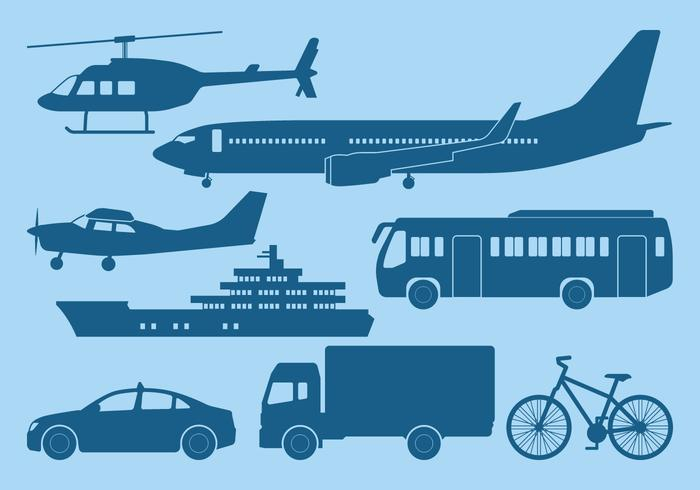 Ícone de transporte vetor