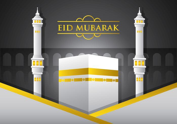 Vetor eid mubarak
