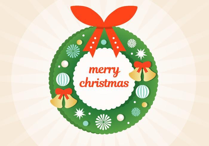 Free Christmas Christmas Wreath vetor