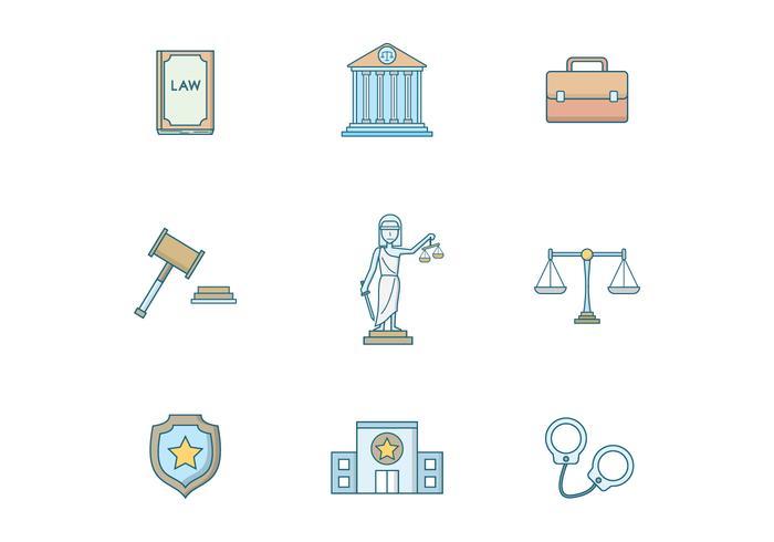 Vector livre de direito e justiça