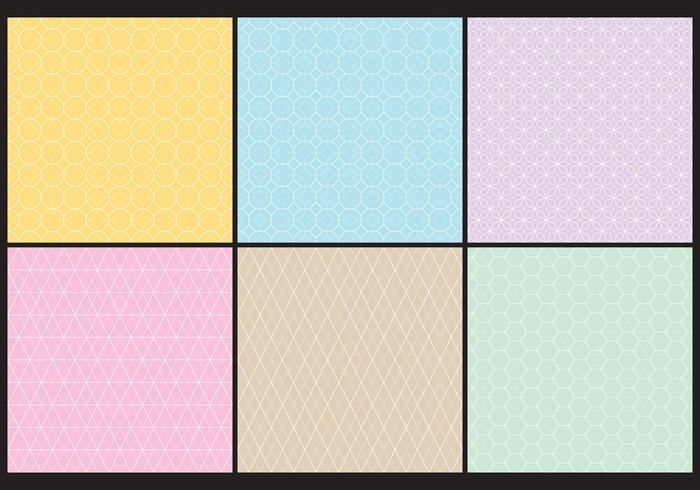 Texturas geométricas vetor