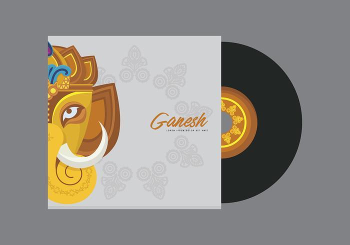 Ilustração do modelo de Ganesh vetor