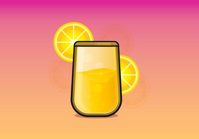 Ilustração da bebida mimosa vetor