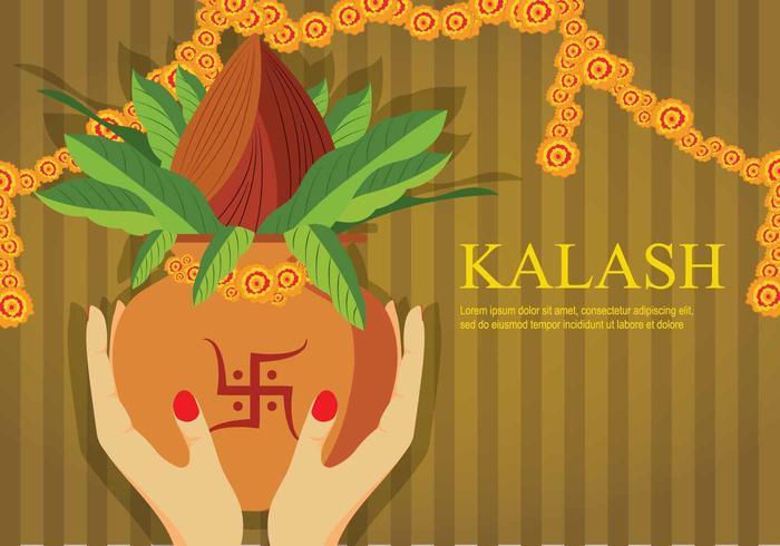 Ilustração gratuita de Kalash vetor
