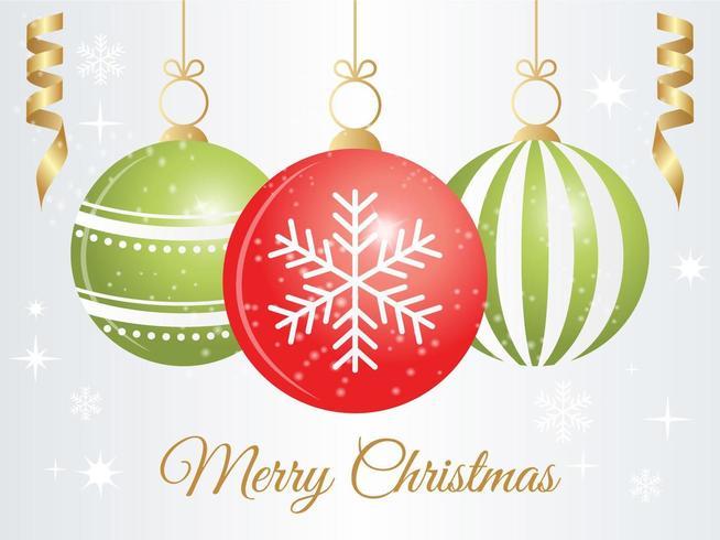 Fundo do ornamento do Natal do vetor