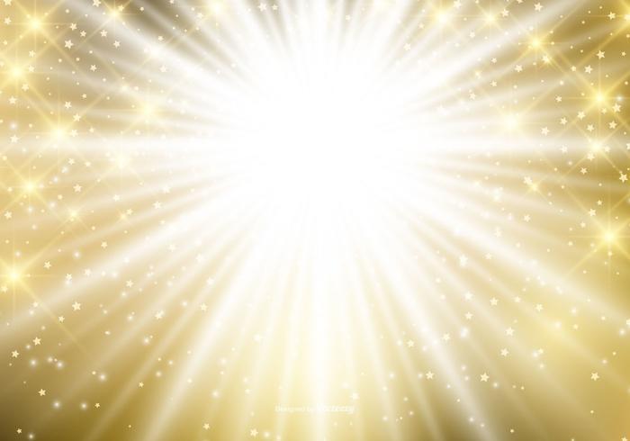 Fundo abstrato do Natal de ouro dourado vetor