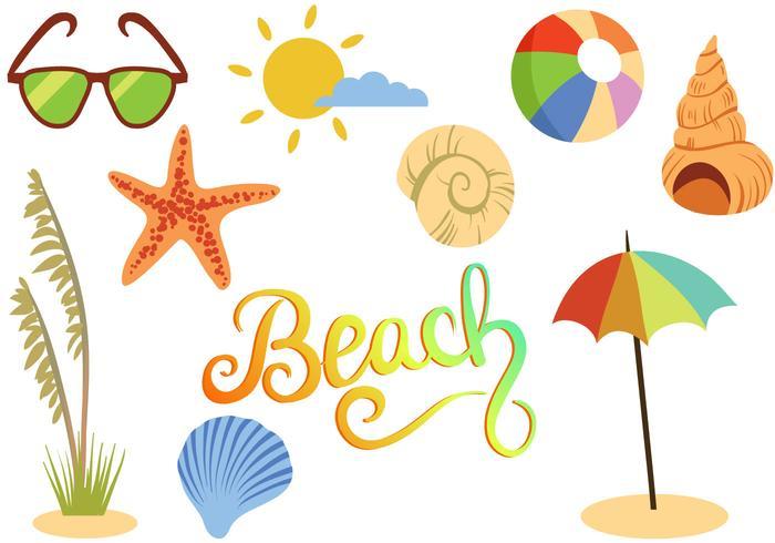 Vetores de praia grátis