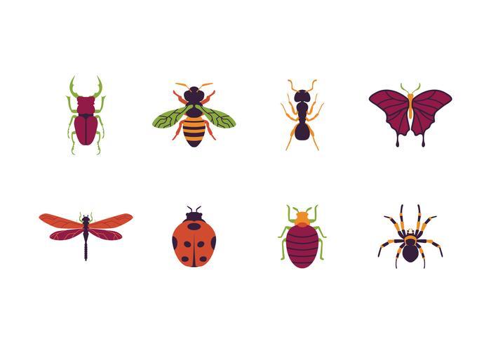 Ícone de insetos grátis vetor