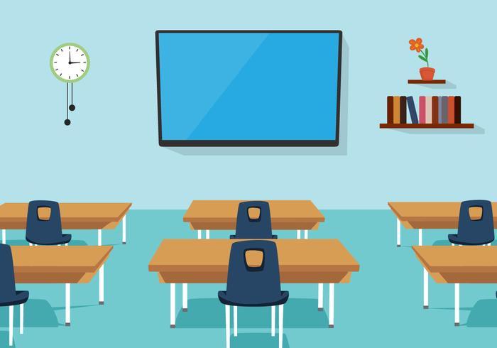 Sala de aula de vetores grátis