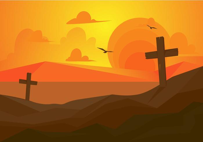 Ilustração gratuita do vetor da Semana Santa